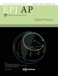 The European Physical Journal Applied Physics EPJ AP